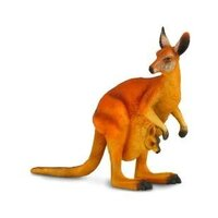 Collecta - Red Kangaroo & Joey 88302