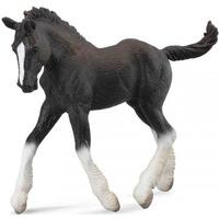 Collecta - Shire Horse Foal Black 88583