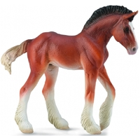 Collecta - Clydesdale Foal Bay 88625