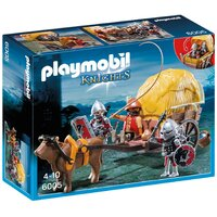 Playmobil - Hawk Knights with Camouflage Wagon 6005