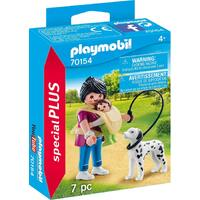 Playmobil - Mother with Baby and Dog 70154