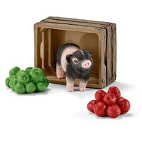 Schleich - Mini-Pig with Apples 42292