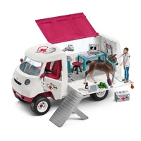 Schleich - Mobile Vet with Hanoverian Foal 42370