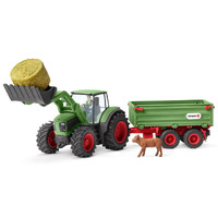 Schleich - Tractor with Trailer 42379
