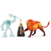Schleich - Battle for the Superweapon  Frost Monster vs. Fire Lion 42455