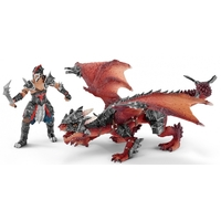 Schleich - Warrior With Dragon 70128