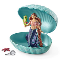 Schleich - Mermaid with Baby Seahorse in Shell 70563