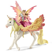 Schleich - Fairy Feya with Pegasus Unicorn 70568