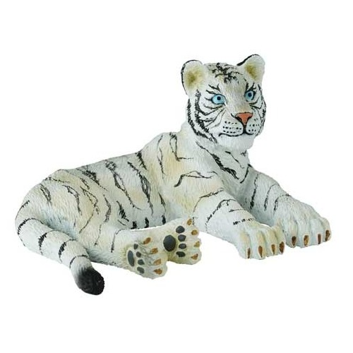 Collecta - White Tiger Cub Lying 88428