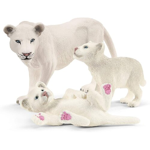 Schleich - Lion Mother with Cubs 42505